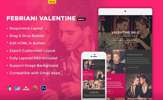 Febriani Valentine Email Template