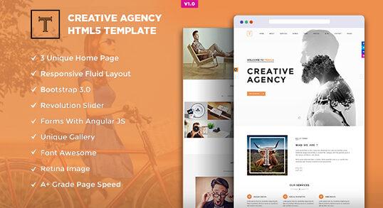 Trasua Creative Agency HTML5 Template