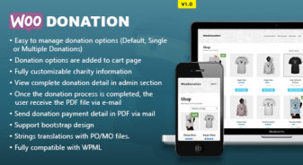 WooDonation WP Plugin