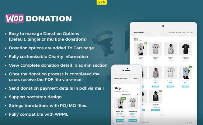 WooDonation WP Plugin