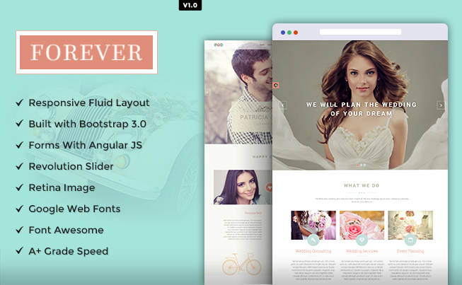Forever Responsive HTML5 Template