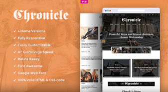 News and Magazine HTML5 Template