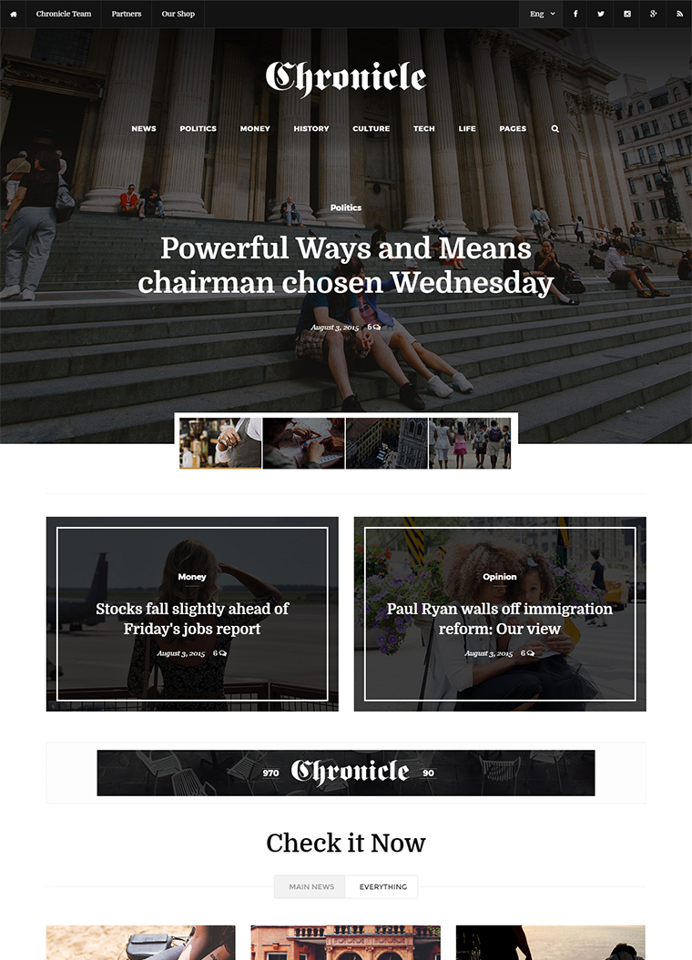 News and Magazine HTML5 Template: Buy Premium News and Magazine ...
