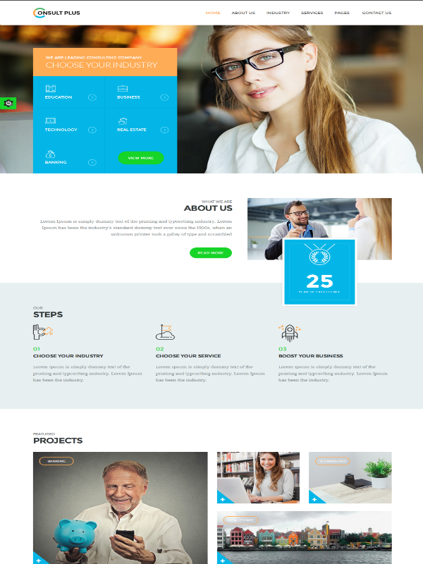 Consult Plus HTML Template: A Treasure Trove of Features