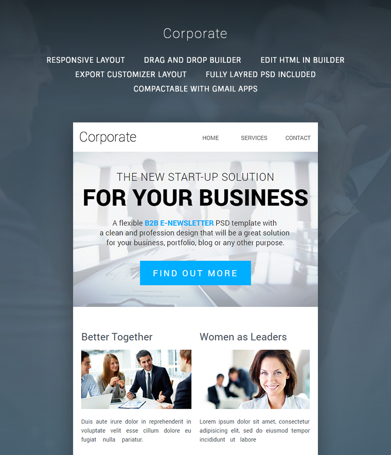 Corporate Multipurpose B2B newsletter Buy Premium Corporate – Corporate Newsletter Template