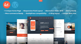 Hit- Corporate WordPress Theme