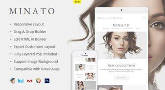 Minato Fashion Email Template
