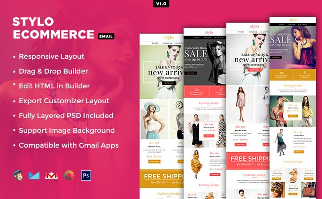 Stylo eCommerce Email Template