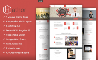 Hathor Multipurpose Responsive Template