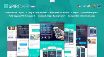 SpiritApp Multipurpose Email Template