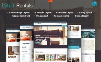 StuffRentals WordPress Theme