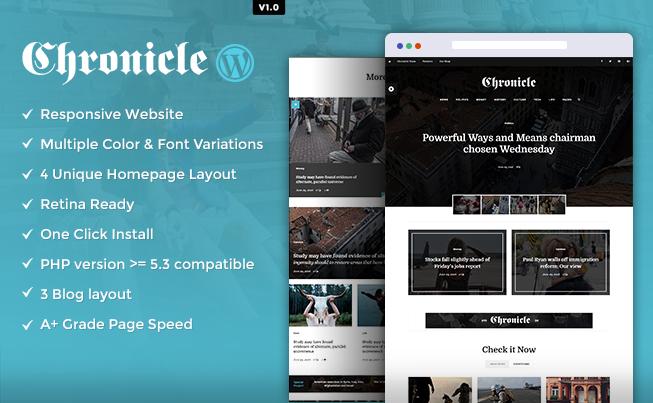 Chronicle WordPress Theme