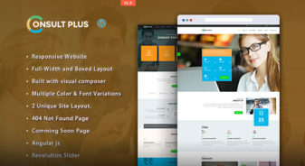 Consult Plus WordPress Theme