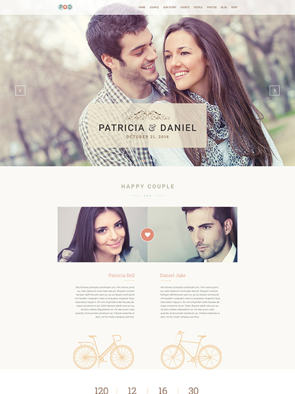 Forever Wedding WordPress Theme- Make Your Wedding A Memorable Event