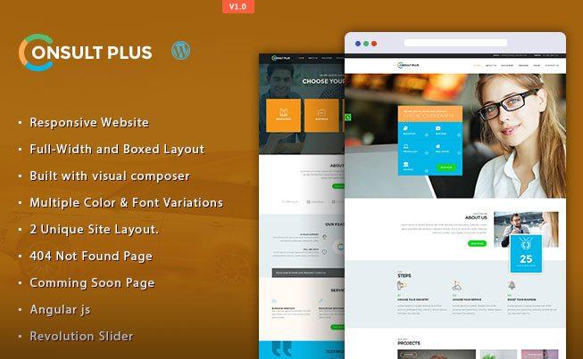 Consult Plus WordPress Theme