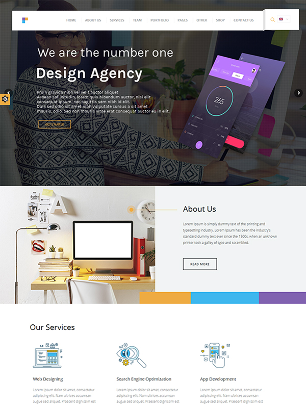Design Agency WP Theme: Feature-Packed WordPress Theme For Businesses