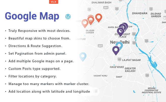 Google Map WP Plugins