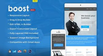 Boost Corporate B2B Newsletter Template