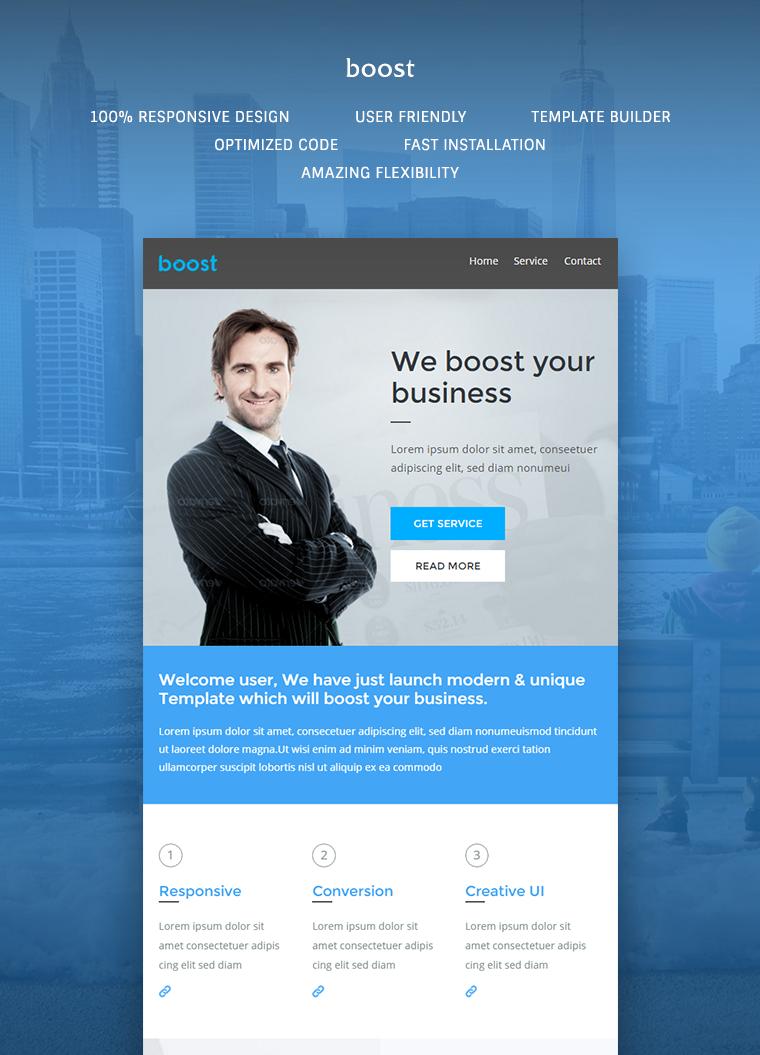 Boost Corporate B2B Newsletter Template
