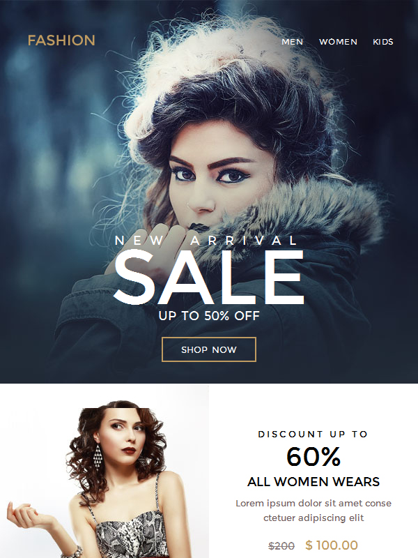 Boost E-Commerce Newsletter Template Supports Efficient Email Marketing