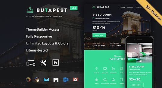 ButaPest Email Template