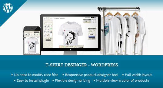 WordPress T-shirt Designer