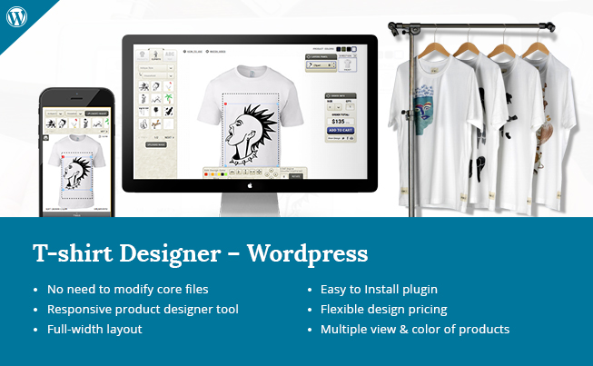 wordpress tshirt designer tool