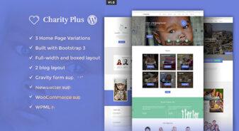 CharityPlus WordPress Theme