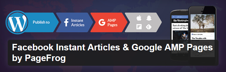 facebook instant articles and google amp pages