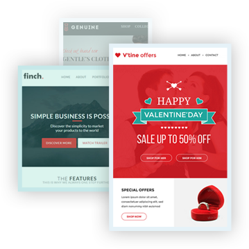 Email Templates Bundle at $35