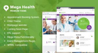 MegaHealth Medical WordPress Theme