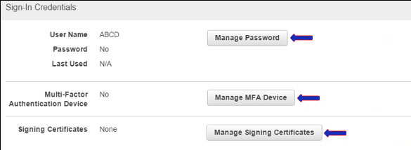 Manage MFA devices