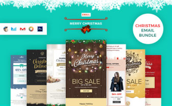 Christmas Email Template Bundle